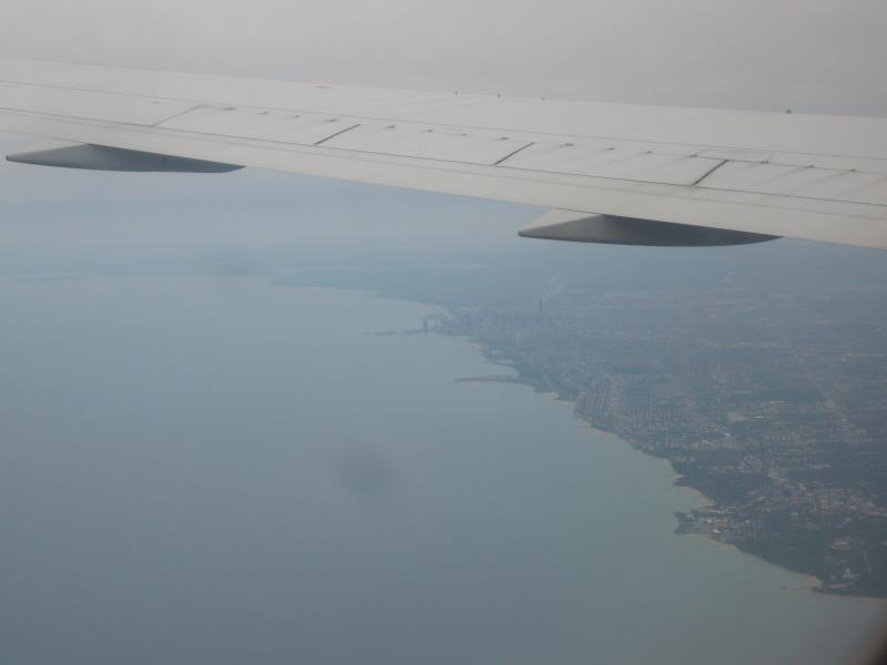 And now, the Michigan Lake and Chicago!